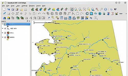 screenshot Quantum GIS